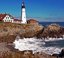 Lighthouses through the lens #2 by Robert Burdick