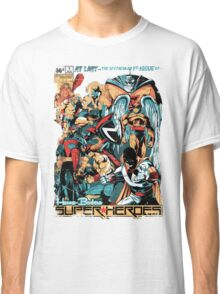 HANNA-BARBERA SUPER HEROES OLD Classic T-Shirt