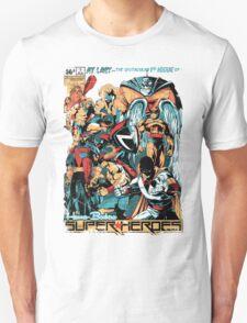 HANNA-BARBERA SUPER HEROES OLD T-Shirt