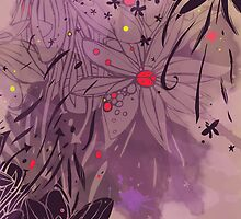 Flower Ink by lucycorrina