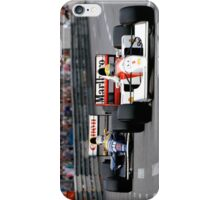 Ayrton Senna vs Nigel Mansell at Monaco '92 - Phone cases iPhone Case/Skin