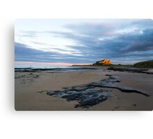 Bamburgh Gold. Canvas Print