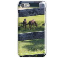 RURAL STABLES iPhone Case/Skin