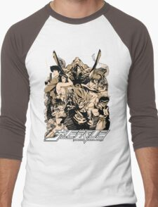ANIME J-LEAGUE | JAPANESE SPECIAL FORCE Men's Baseball ¾ T-Shirt