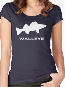 WALLEYE. JUST WALLEYE Women's Fitted Scoop T-Shirt