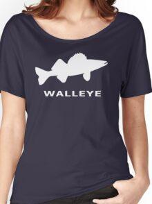 WALLEYE. JUST WALLEYE Women's Relaxed Fit T-Shirt