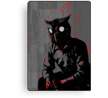 Hotline Miami Rasmus Design Canvas Print