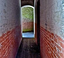 Fort Point Passageway by Scott Johnson