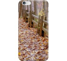 Leaf Lined Path.....  ^ iPhone Case/Skin