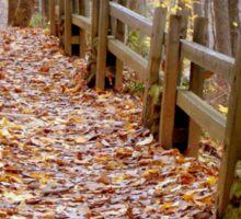 Leaf Lined Path.....  ^ Sticker