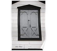 Attic Door Poster