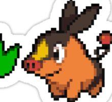 Unova Region Pixel Starters Sticker