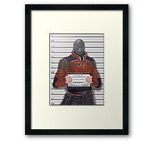 Suicide Squad - Deadshot Framed Print