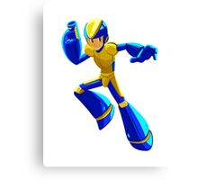 Bad Box Art Megaman Canvas Print