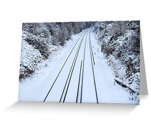 No Trains Today! Greeting Card
