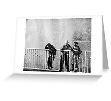 In the fountain1 Greeting Card