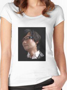KOJIMA Women's Fitted Scoop T-Shirt