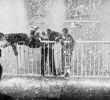 In the fountain4 by Trish  Anderson
