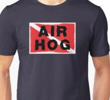"SCUBA  Flag ""Air Hog"" Unisex T-Shirt"