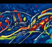 California Nuclear Seafoam  by gimpchrist
