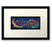 California Nuclear Seafoam  Framed Print