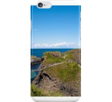 Carrick-A-Rede Rope Bridge, Northern Ireland iPhone Case/Skin