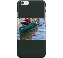 Exploring Along The Exeter Canal iPhone Case/Skin