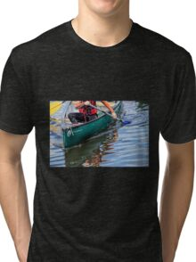 Exploring Along The Exeter Canal Tri-blend T-Shirt