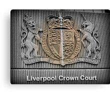 Crown Court Canvas Print