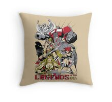 LEGENDS OF THE 80´S Throw Pillow