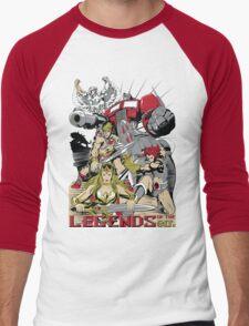 LEGENDS OF THE 80´S Men's Baseball ¾ T-Shirt