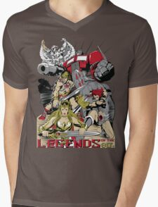 LEGENDS OF THE 80´S Mens V-Neck T-Shirt