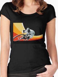 speed demon Women's Fitted Scoop T-Shirt