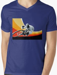 speed demon Mens V-Neck T-Shirt