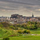 Edinburgh Panorama by Tom Gomez