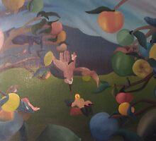 orchard by Laurent Aubin