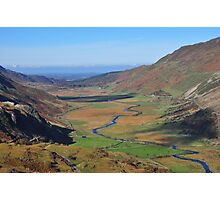 Nant Ffrancon Valley, Snowdonia Photographic Print