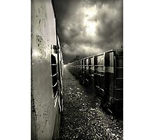 train in the clouds ... Photographic Print