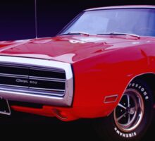 1970 Dodge Charger 500 Sticker