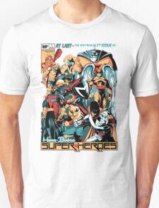 HANNA-BARBERA SUPER HEROES Unisex T-Shirt