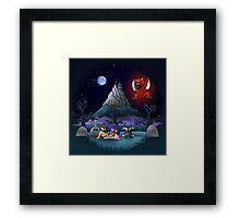Midsummer Nightmare Framed Print