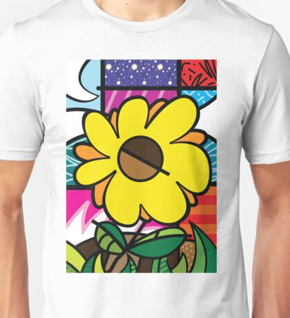 Mom Sunflower Unisex T-Shirt