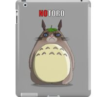 Notoro (with text) iPad Case/Skin