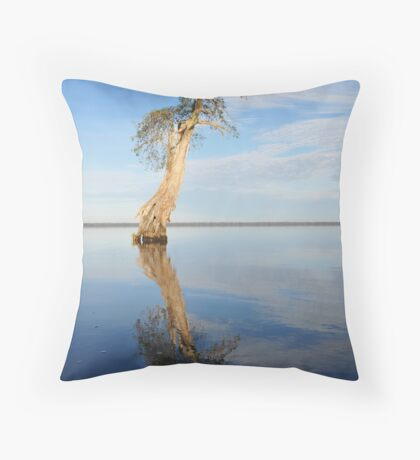 Solitary Cypress Throw Pillow