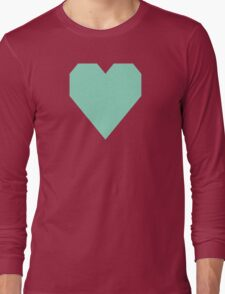 Pearl Aqua Long Sleeve T-Shirt