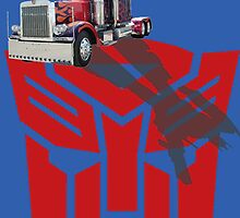 Optimus Prime by joeredbubble