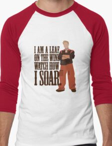 I'm Leaf On the Wind  Men's Baseball ¾ T-Shirt