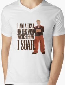 I'm Leaf On the Wind  Mens V-Neck T-Shirt