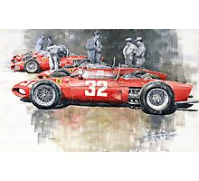 Ferrari 156 Italian GP 1961 Photographic Print