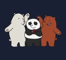 We Bare Bears! Kids Clothes